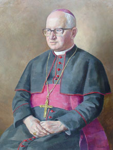 Bishop Christopher Butler - Painting